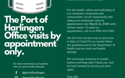 Port of Harlingen COVID-19 Update