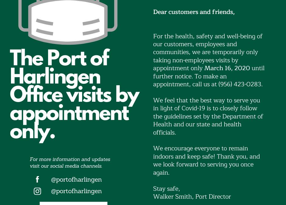 Port office visits