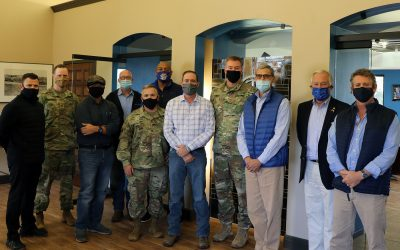 U.S. Army Corps of Engineers Division and District Commanders Visit Port of Harlingen